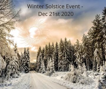 Winter Solstice Event - Dec 21st 2020